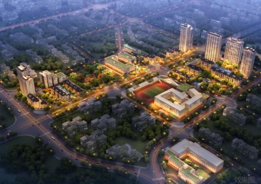 十一学校丰台中学落址,北京金茂府一平方公里城市理想如期兑现