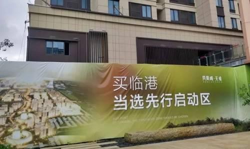凤凰城天境项目宣传海报(左宇 摄)