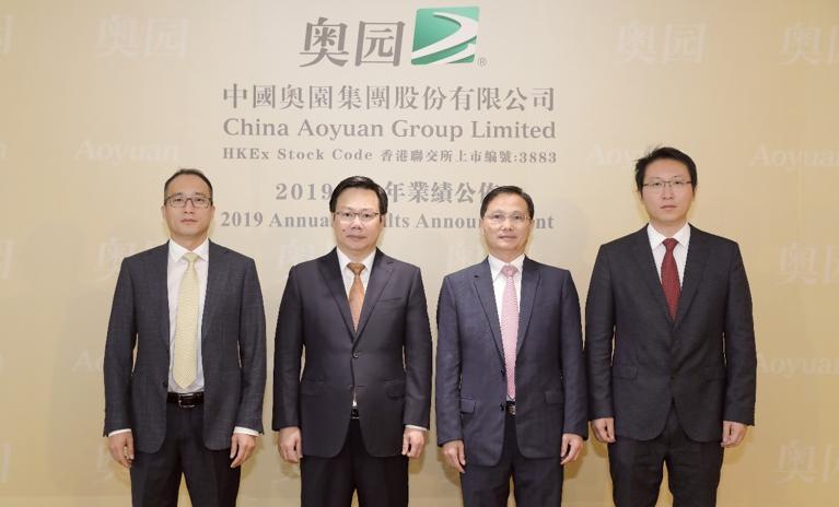 中国奥园2020销售目标预增12% 保持适度稳健增长