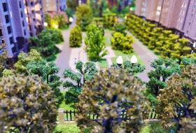 高档社区,地铁口,高绿化,环境优雅