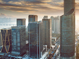 12月100个重点城市二手住宅挂牌均价15060元/平方米,下跌城市占比近八成
