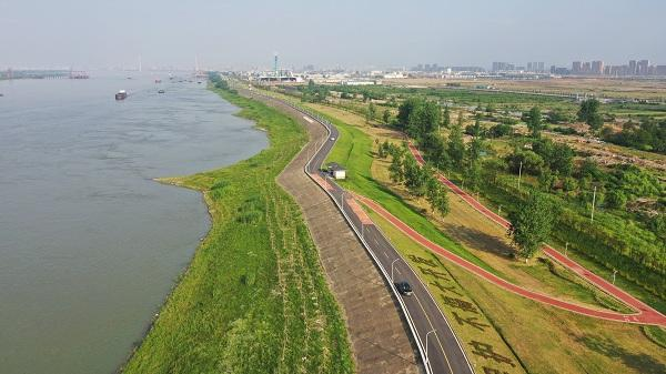 长江黄陂段岸线综合整治全面完成