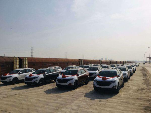 武汉开行中亚国际联运汽车班列