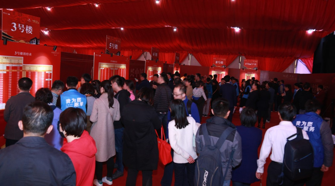一场开盘 四十二亿  2019北京楼市销冠已被它锁定!