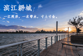 滨江新城-一江两岸、一衣带水、寸土寸金