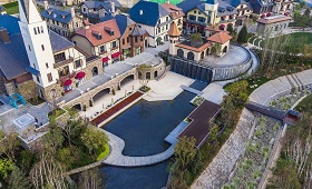 八达岭孔雀城:京北浓荫里的北欧小镇