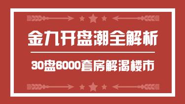 金九30盘推6000套房源开启南京开盘潮