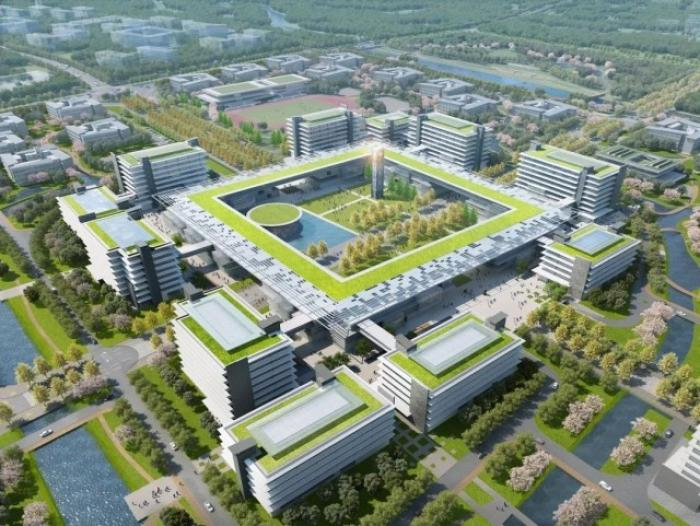 ▲苏州大学未来校区规划图