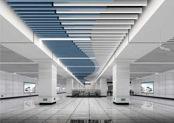 网红地铁站点即将来袭!成都地铁5号线、10号线艺术站点揭秘啦!