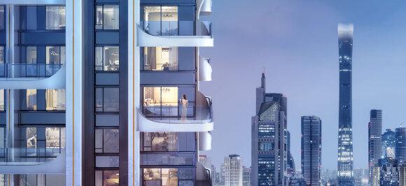 楼盘画报|270°天幕视野,领衔CBD豪宅又一极