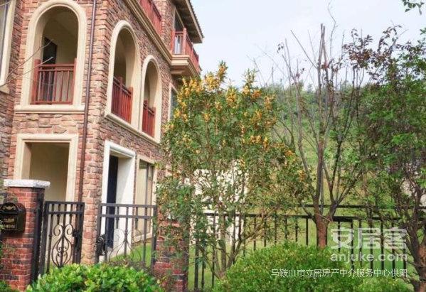 海信濮塘度假村位于濮塘,独栋别墅,9室毛坯,500平院子急售