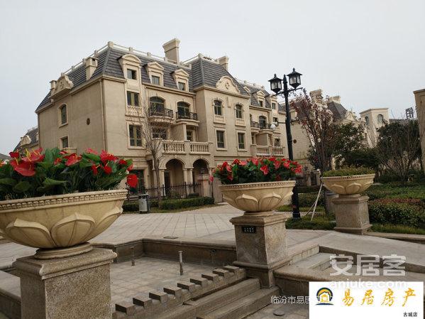 金域王府联盘别墅出售房产证面积280平米带两个车位地下室