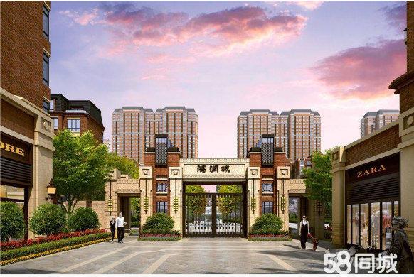 开发区鸿润城一楼带挑高5米3室2厅2卫465平米