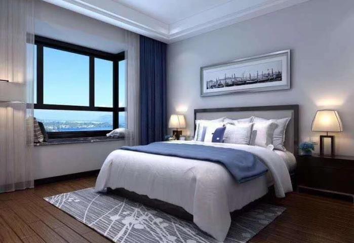 水岸名都二期精装两房两厅,首付23万起,正南正北户型,采光好
