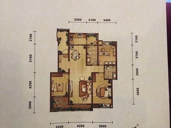 新区 领地未来城 3室2厅新区 领地未来城 3室2厅