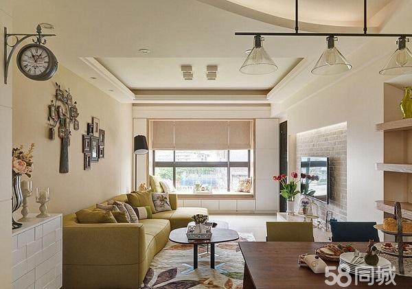 明珠花园 三室两厅一卫 简单装修 带地下室 公摊小