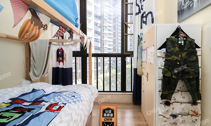 品质大三房,厅出阳台,户型方正