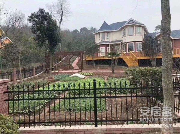 依山傍水紫蓬山木屋庄园独栋别墅精装修带院子环境优美