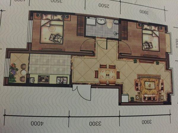 海林镇 盛世华城 2室1厅海林镇 盛世华城 2室1厅
