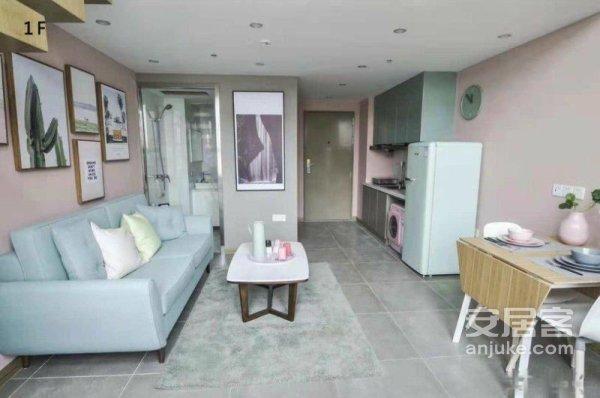 5米挑高公寓观湖国际现房仅此一套可贷款靠欧尚万达