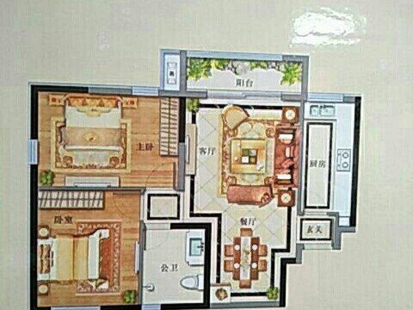 蓝关街道办事处 蔚蓝港湾 2室2厅蓝关街道办事处 蔚蓝港湾 2室2厅
