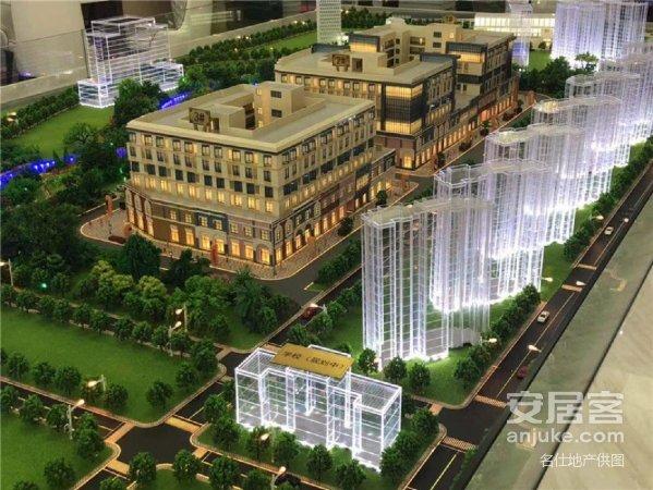 观澜国际,精装公寓带大阳台,万达旁,自带沿街商铺,租金高!