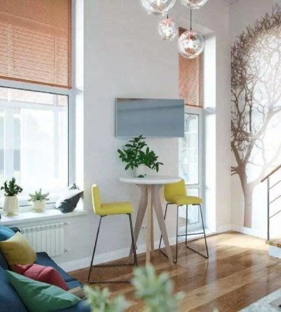 柯桥银泰旁蓝天市心广场地铁口100米loft公寓带花园