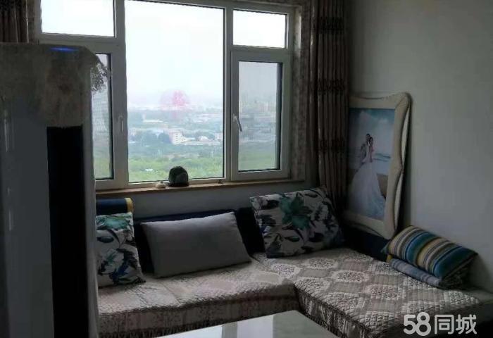 兴悦世嘉17层小高层新装修,带部分家电家具可押款出征后过户