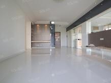 翠屏湾花园城小区3室2厅2卫客厅朝南户型方正