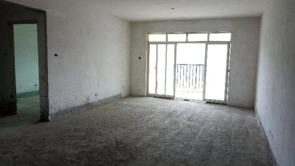 汇水湾110平南北三居室73万现房洋房全天采光户型方正位置好