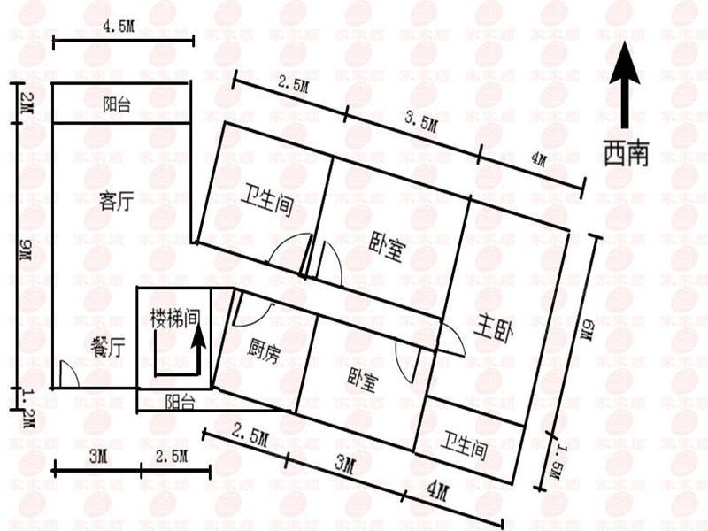 东骏豪苑三期毛坯房业主诚心出二手房