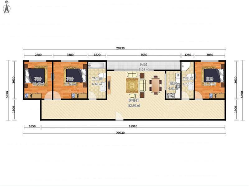 万科紫台繁华地段绿化小区居家舒适二手房