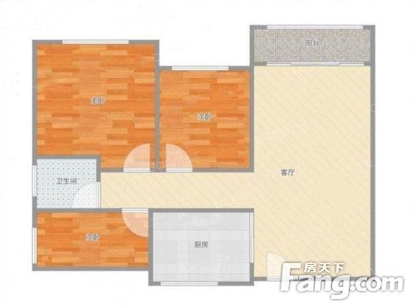 南城石竹新花园3室2厅二手房