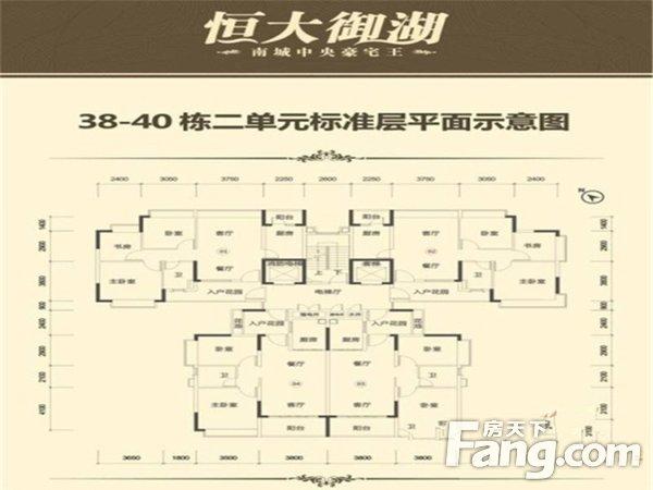 出售恒大御湖3房2厅精装修东北售价240万二手房