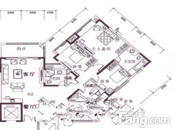 出售东骏豪苑4房2厅毛坯南北售价320万二手房