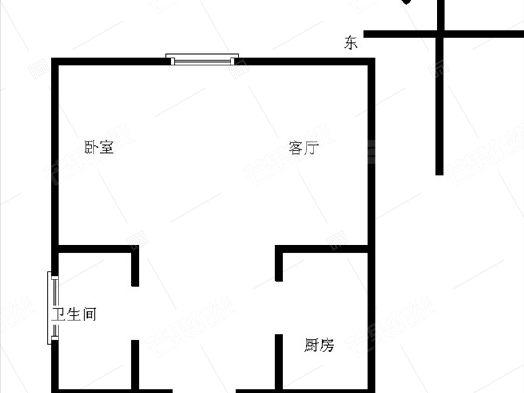 泰莱16区1室1厅1卫39.21㎡二手房