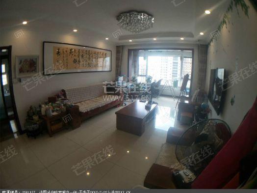 长白岛内+中海国际社区精装房+南北通透中间楼层二手房