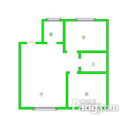 泰荣湾2室2厅1卫99.44㎡二手房