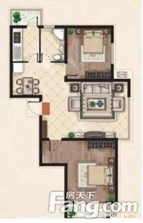 SR国际新城三期2室2厅1卫106.00㎡二手房