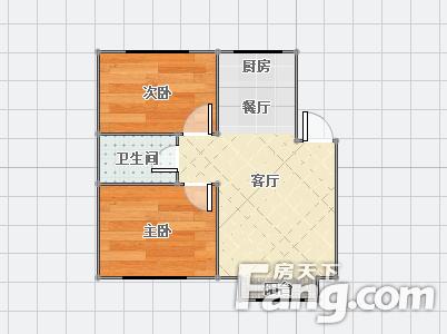 急售中房金河花园2室2厅1卫二手房