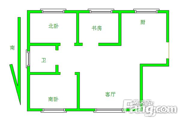 东亚国际城3室2厅1卫125㎡二手房
