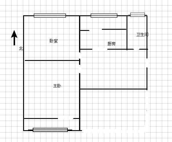 万达商圈尖岭正规两居室中间楼层诚意出售二手房