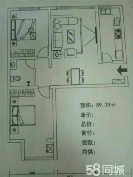 桥西区天伦锦城三期二手房