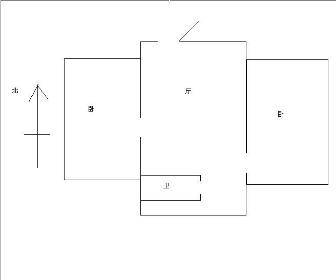 新苑南区 2室1厅1卫 简装修  二手房