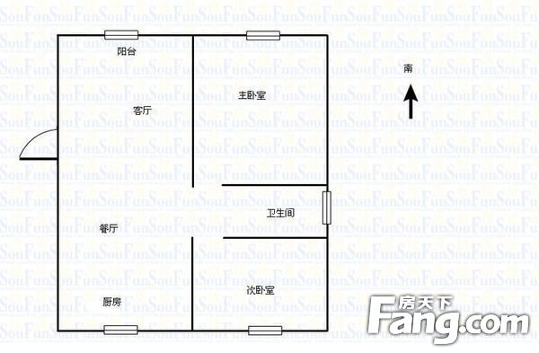 龙泉花园2室2厅通厅通卧没税带地下室房龄新,二手房