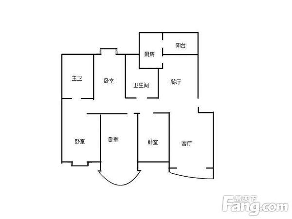 东方航空公司宿舍 4室4厅1卫 精装修  二手房