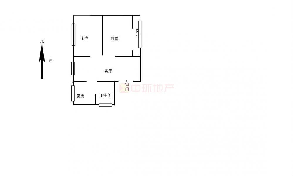 119街坊两房居家装修好楼层满二诚售,二手房