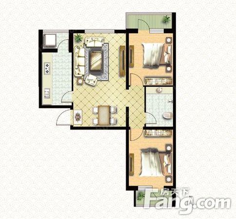华城新都光谷精装两房,低楼层,业主诚心出满二,二手房