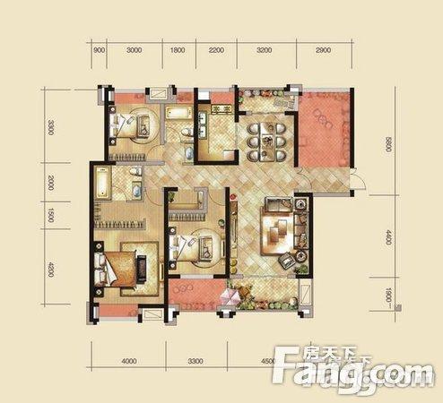紫润明园三室两厅全明户型采光好房东诚售13/18楼,二手房