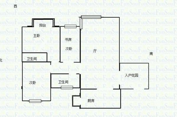 民族大道+锦绣龙城+通透大三房+家电齐全+业主诚售!,二手房